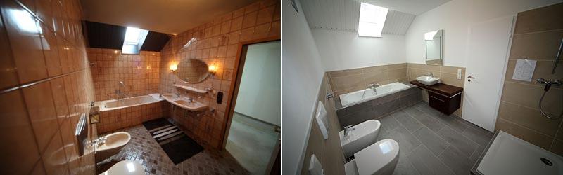 Badsanierung & Badrenovierung München - Badumbau aus einer Hand